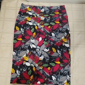 Beautiful floral Lularoe skirt